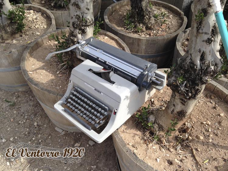 Máquina de escribir Venta de olivos en Madrid