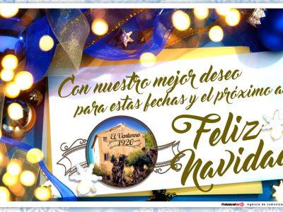 EL VENTORRO 1920 Os desea una Feliz Navidad y un mejor Año Nuevo